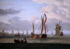 IMG_1761 Abraham Storck 1644-1708 Amsterdam Marine    Seascape Cherbourg Musée des Beaux Arts Thomas Henry (jean louis mazieres) Tags: peintres peintures painting musée museum museo france normandie cherbourg muséedesbeauxarts muséethomashenri