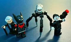 Beyond (Andrew Cookston) Tags: lego dc comics batman beyond custom minifigs minifigures btas brucetimm pauldini cartoonnetwork terrymcginnis cmf series collectibleminifigs toy photography andrewcookston