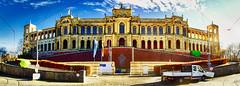 Maximilianeum München Panorama (Chridage) Tags: bayerischerlandtag maximilianeum münchen panorama haidhausen 1857 1874 bayern freistaatbayern luminar luminar4 canoneos700d