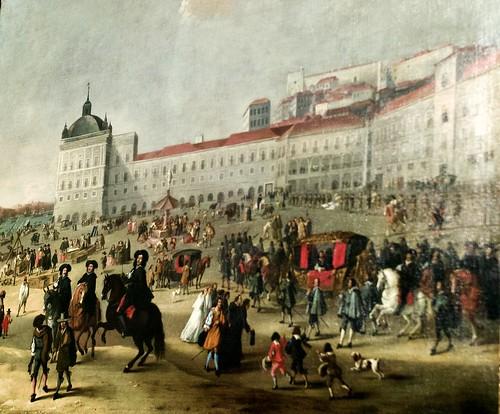 Terreiro  do Paço in 17th Century(1662) - Dirk Stoop (c.1610-c. 1686)
