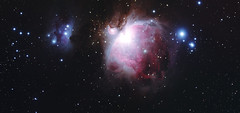Orion Nebula and the Running Man (CKemu) Tags: space astronomy astrophotography orion running man m42 cosmos stars universe long exposure night sky nature telescope astrometrydotnet:id=nova3893191 astrometrydotnet:status=solved