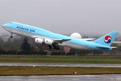 Korean Air   Boeing 747-8I   HL7632   Taipei Taoyuan (Dennis HKG) Tags: aircraft airplane airport plane planespotting skyteam canon 7d 100400 hl7632 taipei taiwan taoyuan rctp tpe koreanair ke kal boeing 747 7478 boeing747 boeing7478 7478i boeing7478i