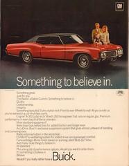 1970 Buick LeSabre Custom Advertisement Life Magazine March 6 1970 (SenseiAlan) Tags: 1970 buick lesabre custom advertisement life magazine march 6