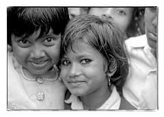 Odisha : two girls (foto_morgana) Tags: adivasi analogphotography analogefotografie photographieanalogue asia asie azië asiangirl blackwhitephotography canoneos1 child childhood children doubleportrait eyes face aangezicht visage fille filles girl girls head headshot india kodakt400cn koraput monochrome nikoncoolscan odisha on1photoraw2020 portrait portret portraiture smile glimlach sourire stare travelexperience vuescan young youth zwartwitfotografie