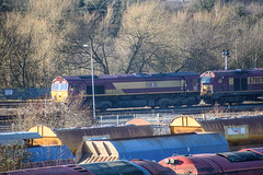 66156, Toton (JH Stokes) Tags: class66 66156 dbcargo toton sandiacre diesellocomotives depot trains trainspotting t tracks railways transport photography locomotives