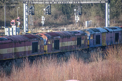 60053, Toton (JH Stokes) Tags: class60 diesellocomotives toton stored dbcargo sandiacrew sandiacre 60053 trains trainspotting tracks transport railways locomotives photography
