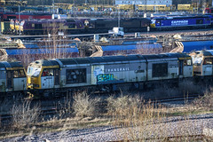 60032, Toton (JH Stokes) Tags: class60 diesellocomotives toton stored dbcargo sandiacrew sandiacre 60032 trains trainspotting tracks transport railways locomotives photography