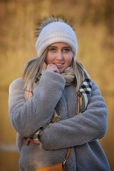 Josefine (30)-01s (Neal J.Wilson) Tags: winter fashion portrait portraits hats scarf coat danishgirl scandinaviangirl teenager