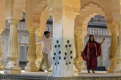 E el palacio Amber, Jaipur. (Victoria.....a secas.) Tags: india rajastán palacio palace amber