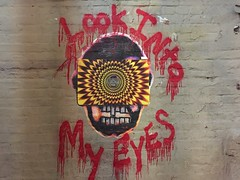 NYC 2019 (bella.m) Tags: nyc streetart graffiti urbanart usa ny newyork pasteup art wheatpaste opart lookintomyeyes