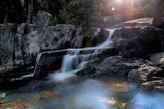 Lower Eagle Falls (lfeng1014) Tags: lowereaglefalls emeraldbay laketahoe california southlaketahoe waterfalls landscape canon5dmarkiii ef2470mmf28liiusm longexposure 20seconds light sunflare rocks travel usa lifeng