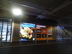 Sainsbury's Selly Oak via the car park - sign (ell brown) Tags: sellyoak birmingham westmidlands england unitedkingdom greatbritain sellyoakshoppingpark sellyoakbypass astonwebbboulevard sellyoaknewroad sainsburys carpark worcesterbirminghamcanal worcesterandbirminghamcanal bristolrd bristolrdsellyoak sign
