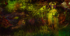 Garden of Emotions (Thus Yootz_3) Tags: sl forest garden oniro unicorn geisha