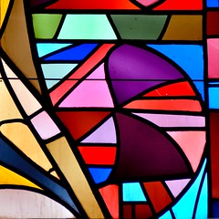 Palette de couleurs - opus 1 (Olivier Simard Photographie) Tags: stiftskirche badenbaden allemagne collégiale église vitrail couleurs carré square florentinerberg lignes géométrie badenwürttemberg églisecollégialedelasaintecroix