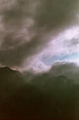 Ektar 125 - Les Aravis (MEOT Youri) Tags: helios 44m4 ektar125 ektar 125 praktika mtl5 montagne mountain mood sombre nature noir light lumiére lightroom expired périme exposure film 35mm analog