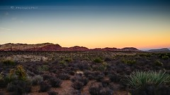 SUNSET AT RED ROCK CANYON (lavierphilippephotographie) Tags: redrockcanyon usa etatsunis nevada