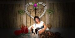 PUPPY LOVE (*kAmmieAnn*) Tags: stonesworks secondlife avatar fashion style trend appearnce homegarden decor decoration heart inspiration inspirational valentine valentinesday carasposes puppylove originaldesign holiday exclusive resizer