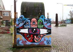 Graffiti in Amsterdam (wojofoto) Tags: amsterdam nederland netherland holland ndsm noord graffiti streetart wojofoto wolfgangjosten 2020 phobia