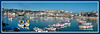 Uk, Cornwall, St. Ives, harbour, panorama3
