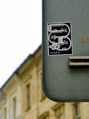 Graffiti in Bratislava 2019 (kami68k [Graz]) Tags: bratislava 2019 graffiti illegal bombing sticker streetart hnrx