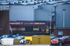 60018, Toton (JH Stokes) Tags: class60 dbcargo toton sandiacre diesellocomotives depot trains trainspotting t tracks railways transport photography locomotives 60018