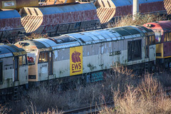 60088, Toton (JH Stokes) Tags: class60 diesellocomotives toton stored dbcargo sandiacrew sandiacre 60088 trains trainspotting tracks transport railways locomotives photography