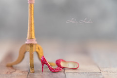 The morning after (hehaden) Tags: shoes sparkly glittery highheels miniature mannequin stand macro tabletop sel90m28g