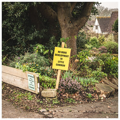 Quietly Protesting (Mandy Willard) Tags: bexhill littlecommon sign