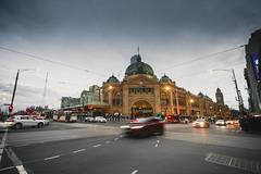 Flinder Street Railway Station (ericmontalban) Tags: flinder melbourne australia flinderst railway station