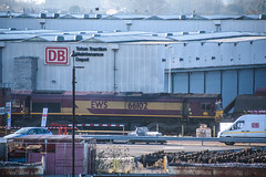 66102, Toton (JH Stokes) Tags: class66 66102 dbcargo toton sandiacre diesellocomotives depot trains trainspotting t tracks railways transport photography locomotives