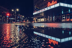Gothenburg Film Festival (Fredrik Lindedal) Tags: theather movie moviefestival reflection reflections sign neon neonlights nikon night nightshot nightphoto nightlights nightshoot gothenburg göteborg glow red lights lindedal