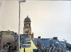 Pont pasteur Stradsbourg 22-01-2020 (messer.christophe) Tags: pont pasteur strasbourg alsace aquarelle croquis urbain urban sketcher