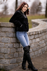 Alyssa (Ray Akey - Photographer) Tags: pretty female woman girl youth young adult redhead attractive