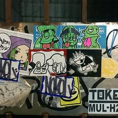 Ramen adventures! (Question Josh? - SB/DSK) Tags: sticker stickers stickr slaps streetart chicago
