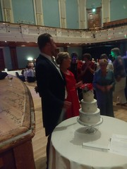 IMG_20190928_214009892 (griffpops_deptford) Tags: wedding reception dancing reading formalattire ladyinred menwithbeards