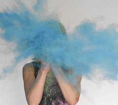 Powder explosion! (Laura Cooper94) Tags: 35mm nikon7200 nikon portrait colour explosion paint powder