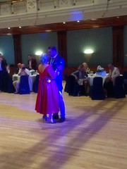 IMG_20190928_204752637 (griffpops_deptford) Tags: wedding reception dancing reading formalattire ladyinred menwithbeards