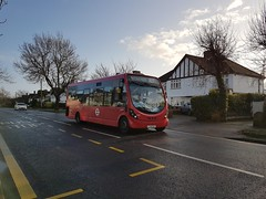Photo of Christmas Eve, WS8 LJ12 CGY on route R3, 24th December 2019.