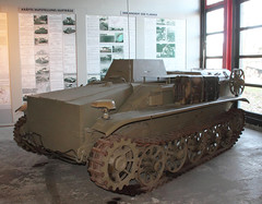 Remote controlled Borgward tank (Schwanzus_Longus) Tags: munster museum german germany old classic vintage remote controlled rc vehicle mini tank panzer explosive charge carrier drone war world ii 2 borgward goliath leichter ladungsträger bomb b iv 4
