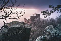 Altes Schloss Baden-Baden (juerger69) Tags: altes schloss badenbaden nebel frost