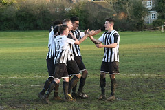 138 (Dale James Photo's) Tags: old bradwell united football club versus harefield fc spartan south midlands league challenge trophy quarter final sports social milton keynes saturday 18th january 2020 non