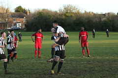 136 (Dale James Photo's) Tags: old bradwell united football club versus harefield fc spartan south midlands league challenge trophy quarter final sports social milton keynes saturday 18th january 2020 non