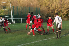 130 (Dale James Photo's) Tags: old bradwell united football club versus harefield fc spartan south midlands league challenge trophy quarter final sports social milton keynes saturday 18th january 2020 non
