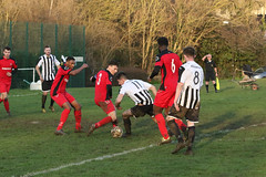 128 (Dale James Photo's) Tags: old bradwell united football club versus harefield fc spartan south midlands league challenge trophy quarter final sports social milton keynes saturday 18th january 2020 non