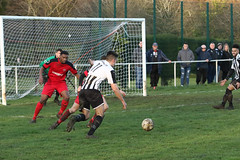 126 (Dale James Photo's) Tags: old bradwell united football club versus harefield fc spartan south midlands league challenge trophy quarter final sports social milton keynes saturday 18th january 2020 non