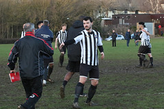 169 (Dale James Photo's) Tags: old bradwell united football club versus harefield fc spartan south midlands league challenge trophy quarter final sports social milton keynes saturday 18th january 2020 non
