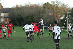 164 (Dale James Photo's) Tags: old bradwell united football club versus harefield fc spartan south midlands league challenge trophy quarter final sports social milton keynes saturday 18th january 2020 non