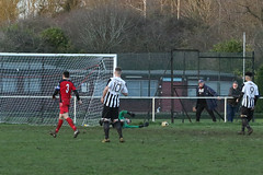 159 (Dale James Photo's) Tags: old bradwell united football club versus harefield fc spartan south midlands league challenge trophy quarter final sports social milton keynes saturday 18th january 2020 non