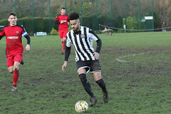 157 (Dale James Photo's) Tags: old bradwell united football club versus harefield fc spartan south midlands league challenge trophy quarter final sports social milton keynes saturday 18th january 2020 non