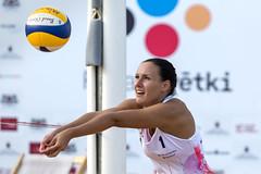 Volleyball girl (Jevgenijs Slihto) Tags: volleyball beachvolleyball woman action sports sport nikon nikond5600 sigma sigma150600 rigassvetki lucavsala